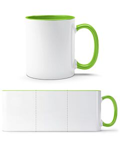 White / Green - front