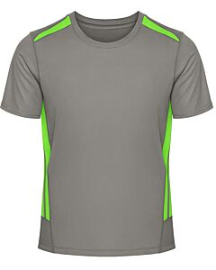 Grey / Neon Lime - Front
